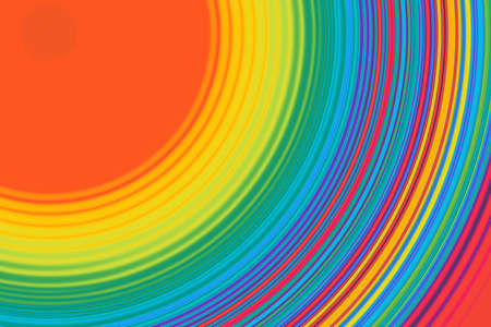 Colorful abstract background with circular lines Reklamní fotografie