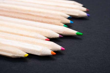 Assortment of colored pencils. Colored Pencils fr Drawing Reklamní fotografie
