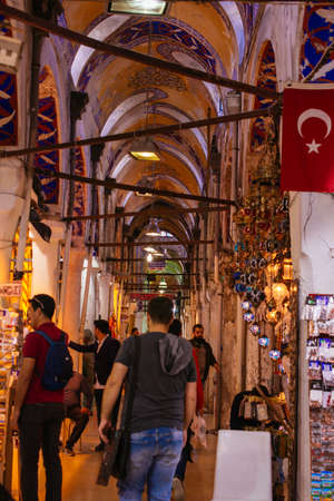 The Grand Bazaar in Istanbul is one of the largest and oldest covered markets in the world.