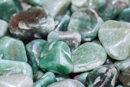 aventurine gem stone as natural mineral rock specimen