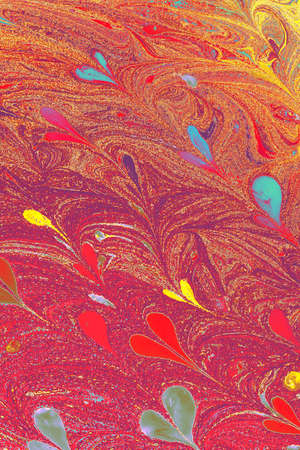 Abstract creative marbling pattern for fabric, design background texture