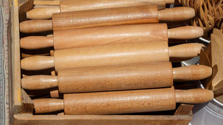 Rolling pins made of wood