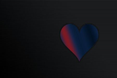 Happy Valentines Day heart design. Valentines Day greeting background