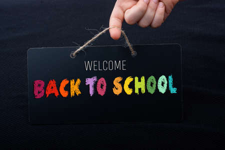 Back to school design template for invitation, promotion poster, banner