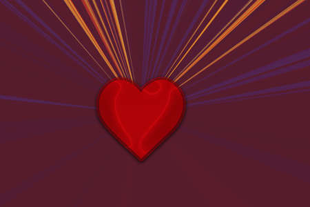 Valentines day card concept. Heart for Valentines Day Background.