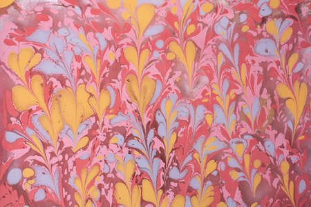 Abstract creative marbling pattern templat  for fabric,  design background texture