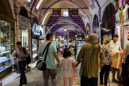 Grand Bazaar, Turkey, one of the largest and oldest covered market in the world.