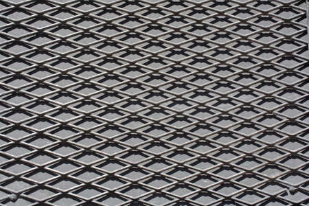 Metal grid texture background with abstract pattern