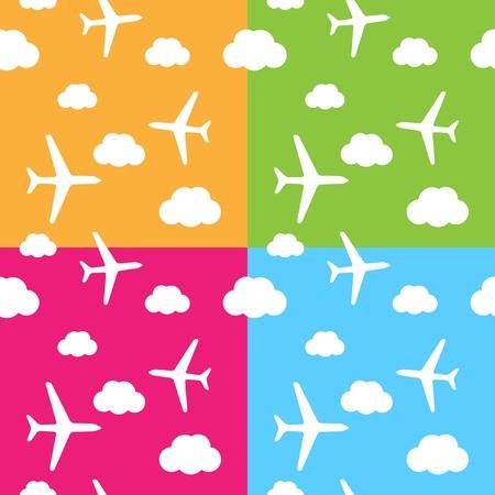 air traffic: modelo de avi�n transparente