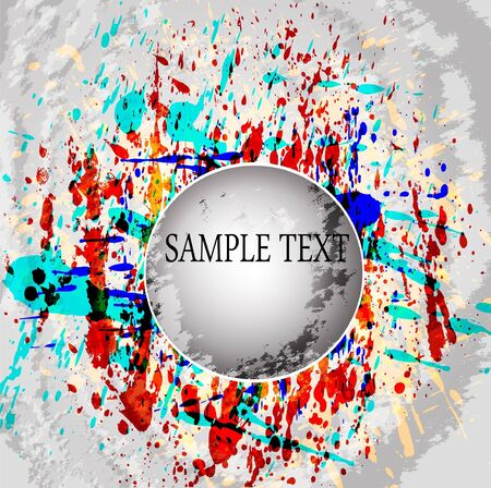 Abstract vector colorful mosaic background Vector