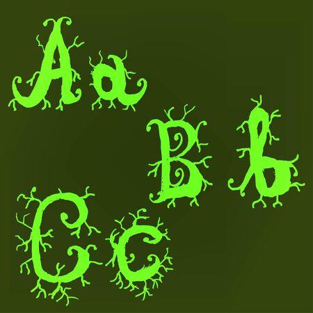 Vector alphabet. Stock Vector - 10227470