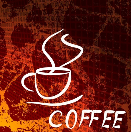 cup of coffee Stock Vector - 10227507