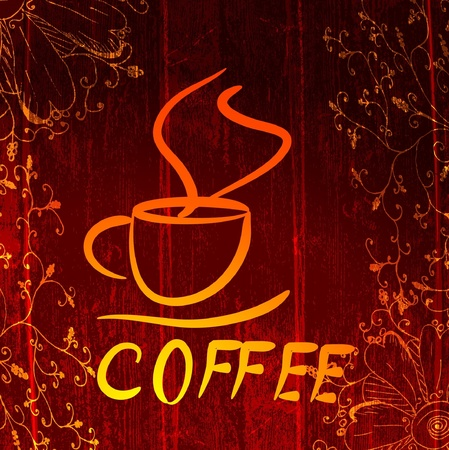cup of coffee Stock Vector - 10227534