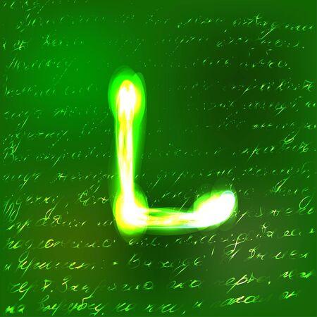 Vector alphabet. Stock Vector - 10227480