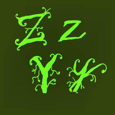 Vector alphabet. Stock Vector - 10227465