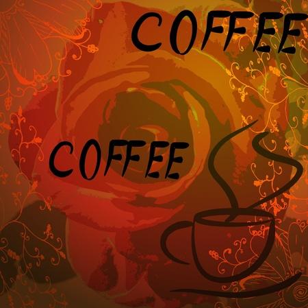 cup of coffee. vector. Stock Vector - 10509922