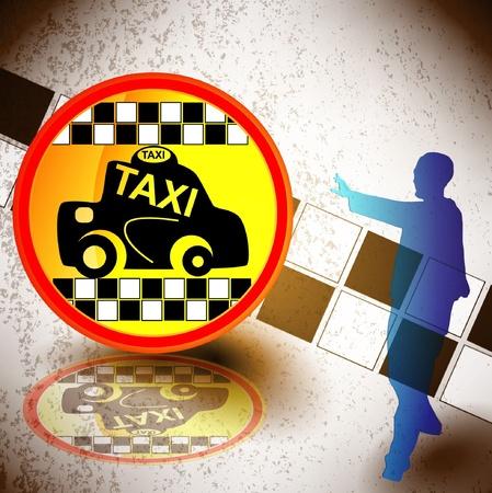 taxi Stock Vector - 11056785