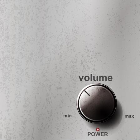 stereo: Bouton de volume