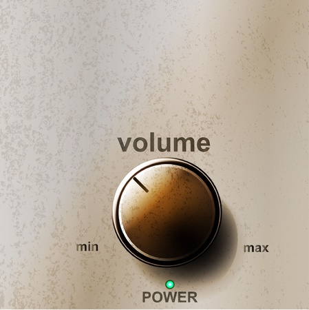 amplifiers: Volume button