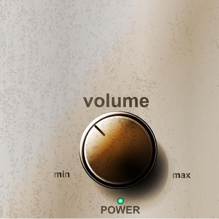 radio button: Volume pulsante