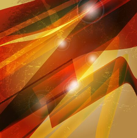 Abstract 3d technology lines with light background.