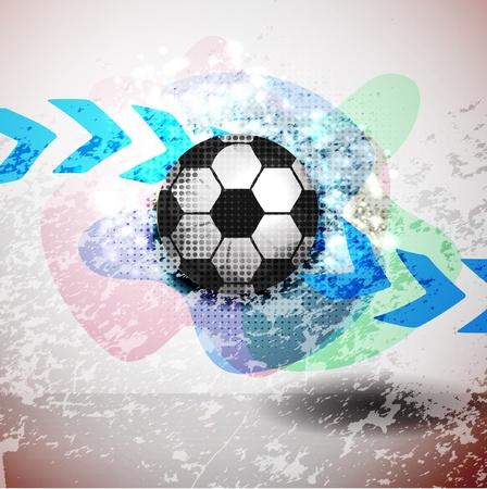 soccer background. Vector