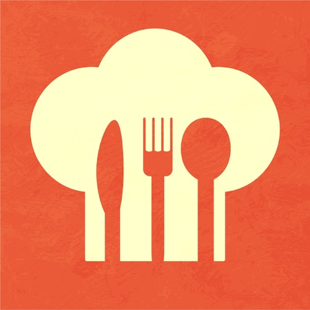 knife and fork: restaurant menu Illustration