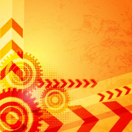 Arrow abstract vector background  Vector