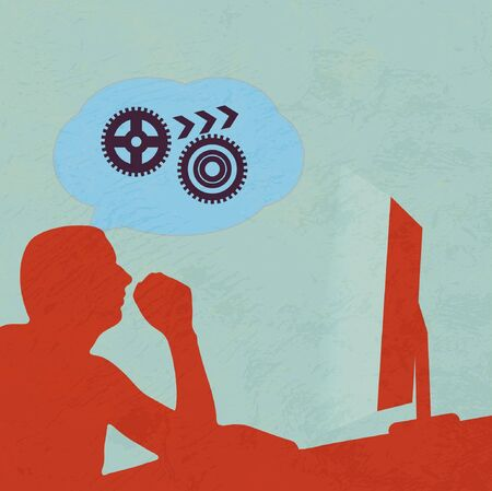 Brainstorm Internet Vector