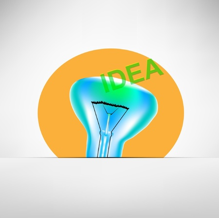 concept bulb drawing Stock Vector - 12349762