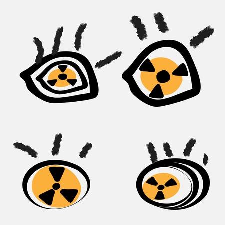 isotope: eye radiation