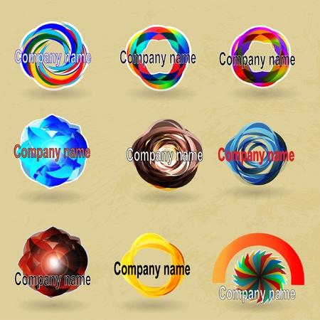 compani name Stock Vector - 12659013