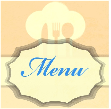 restaurant menu Stock Vector - 12658845