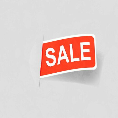 Sale Vintage Poster Vector Stock Vector - 12919575