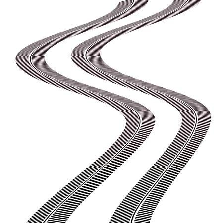 car race track: tire