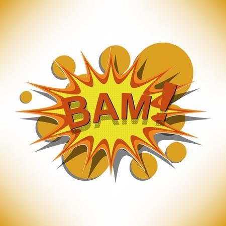 bam Stock Vector - 14134541