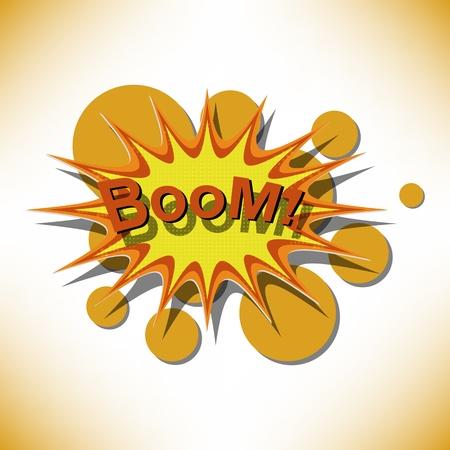 Bang. Comic book explosion. Stock Vector - 14134540
