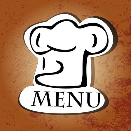 fartuch: Projektowania menu restauracji.