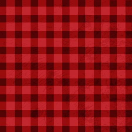 hilo rojo: Textura de mantel de Retro Vectores