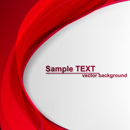 red line: Abstract background. Vector illustration.