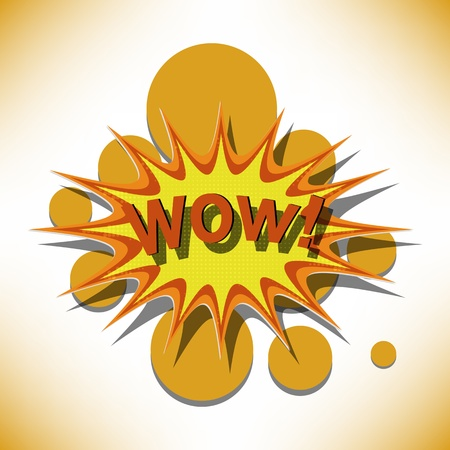 wow cartoon Stock Vector - 14149324