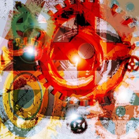 abstract technology background  免版税图像