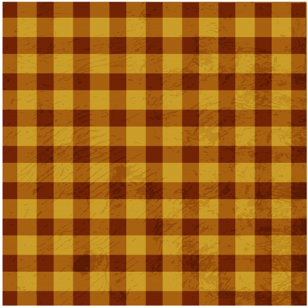 checkered scarf: Retro tablecloth texture