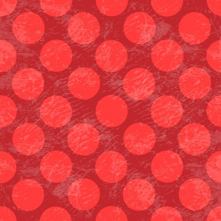 polka dot grunge pattern Vector
