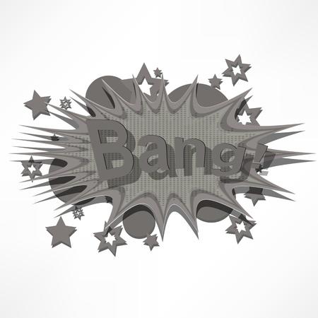 Bang. Comic book explosion. Stock Vector - 15776439