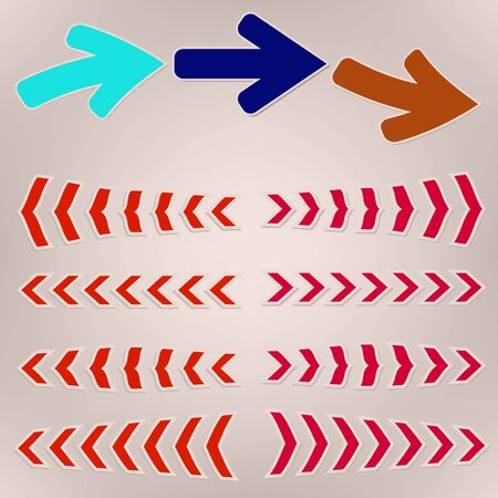 vector arrows Stock Photo - 15885582