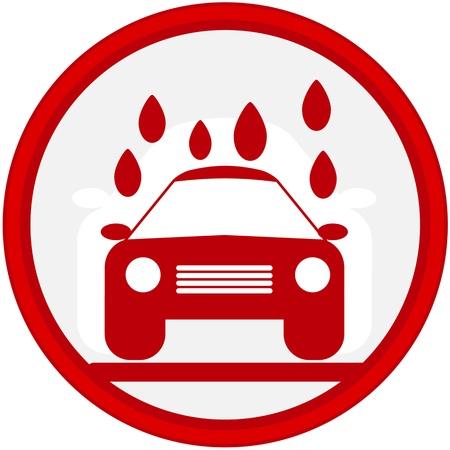 car service icon Stock Photo - 15885539