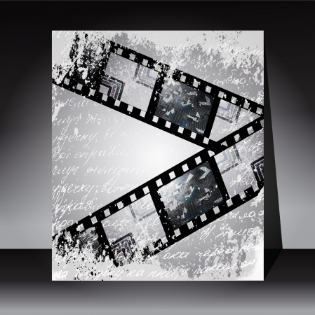 Grunge film for photo or video recording photo