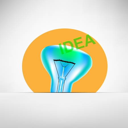 concept bulb drawing Stock Photo - 15885535