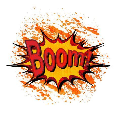 Comic book explosion. Stock Photo - 16168924